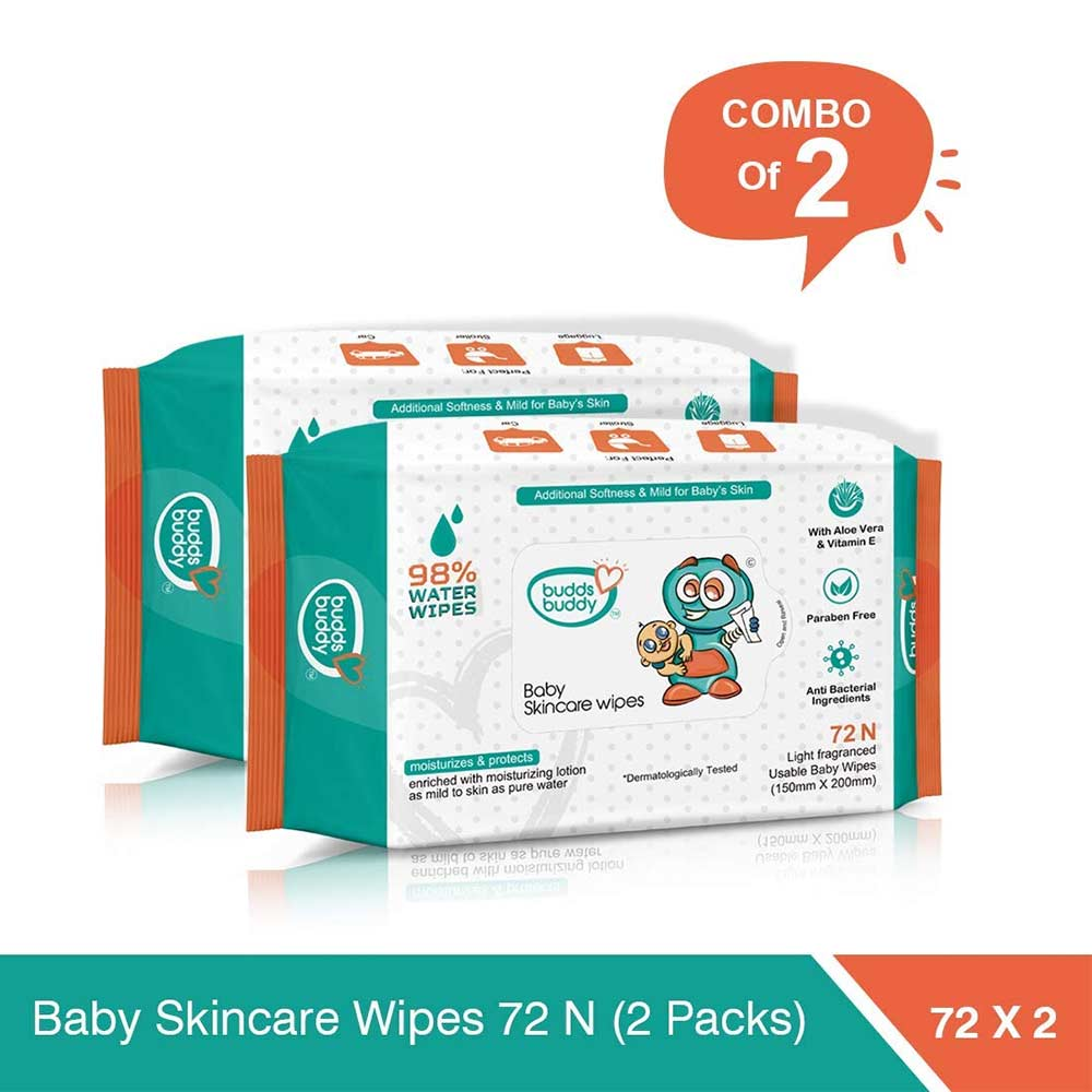 BuddsBuddy Baby Skin Care Wet Wipes