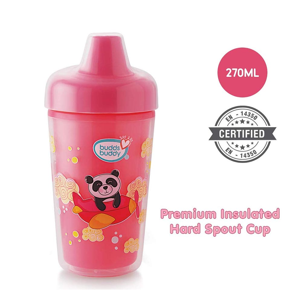 Buddsbuddy Premium Insulated Hard Spout Cup