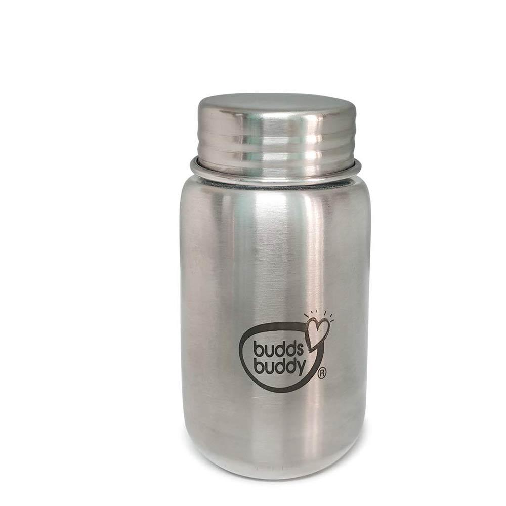 Buddsbuddy Premium Stainless Steel 3 in 1 Feeding Bottle