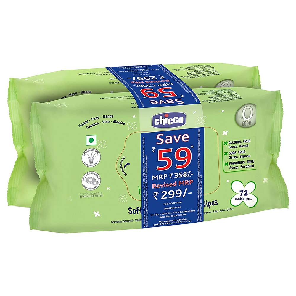 Chicco Baby Moments Wipes