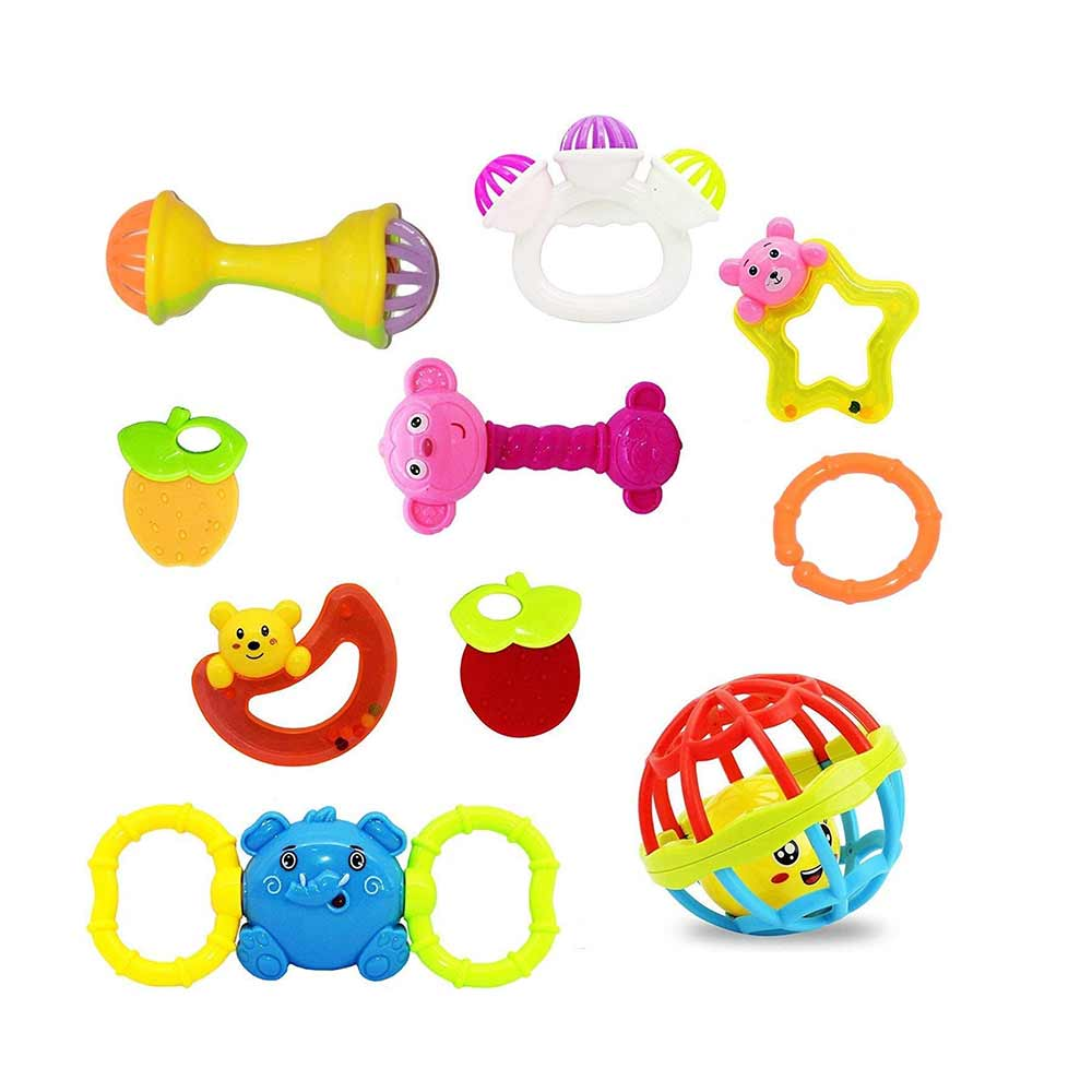 CocoRio  Non Toxic Rattles for Babies