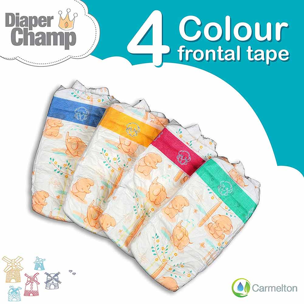 DIAPER CHAMP No Chlorine and Paraben Diapers