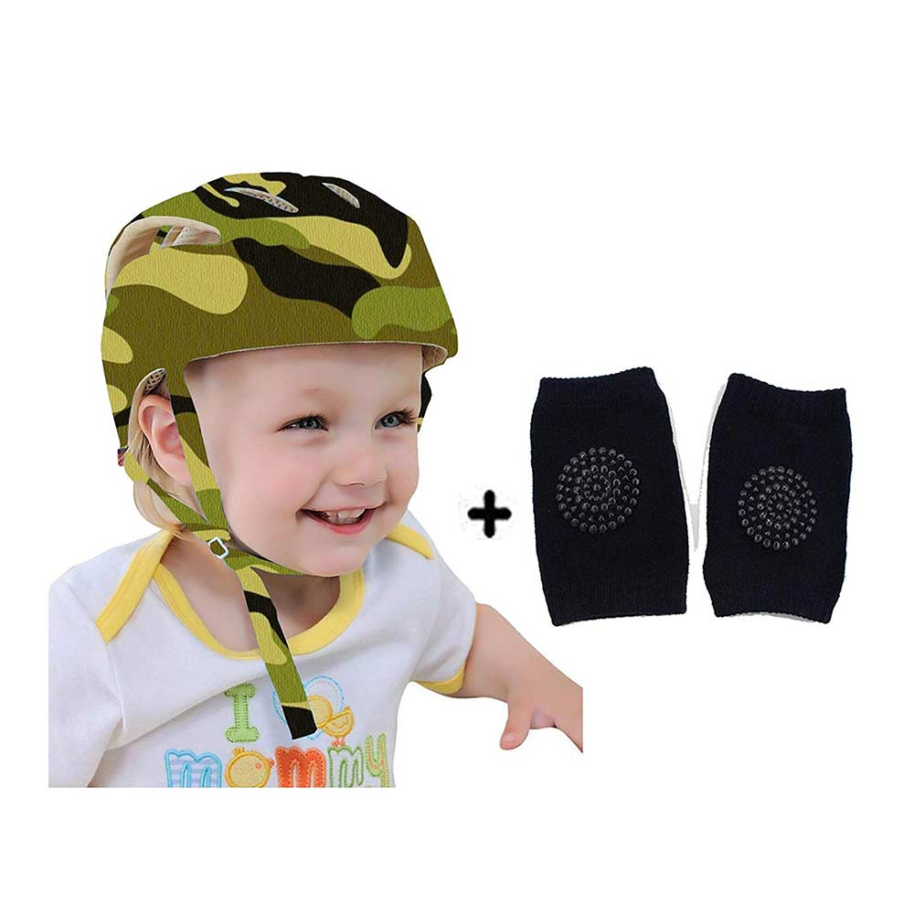 DearJoy Baby Safety Helmet with Kneepads