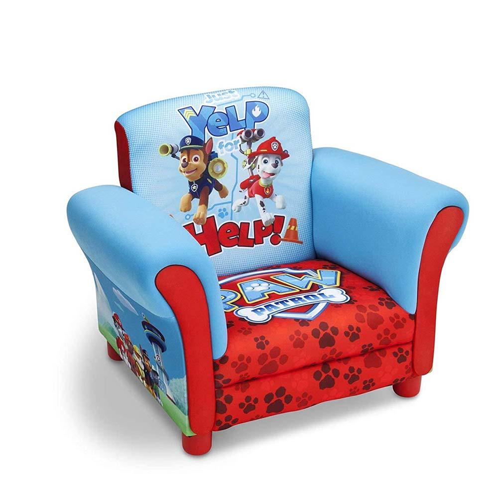 Delta Children Red Paw Patrol Hardwood Upholstered Chair