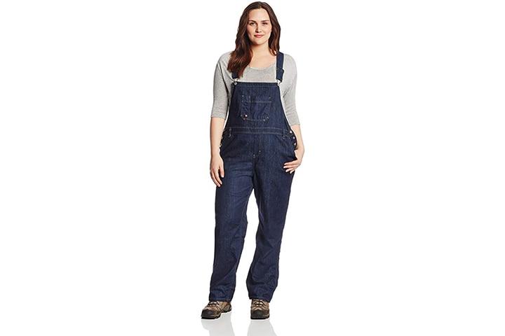 Dickies Women's Plus Size Denim Bib Overall