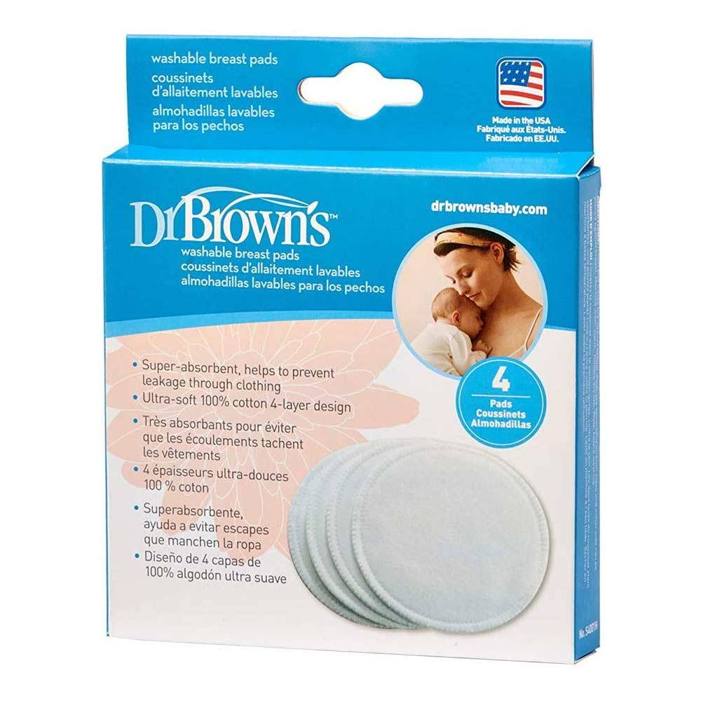 Dr. Brown's Washable Breast Pads
