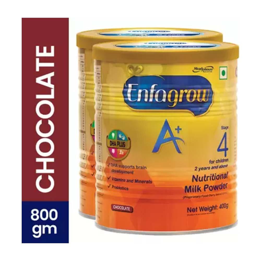 Enfagrow A Plus Nutritional Chocolate Flavor Milk Powder
