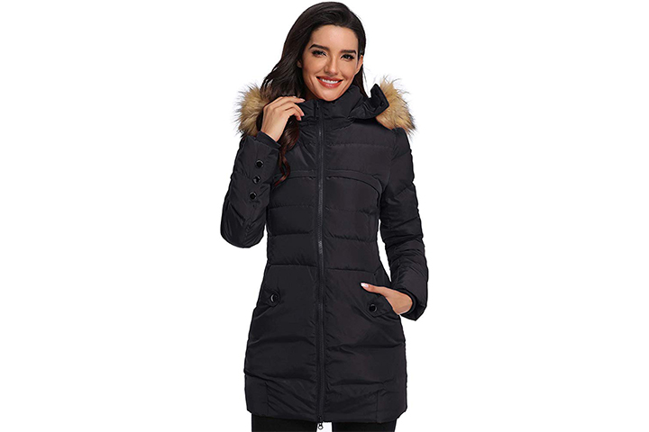 Epsion Women's Hooded