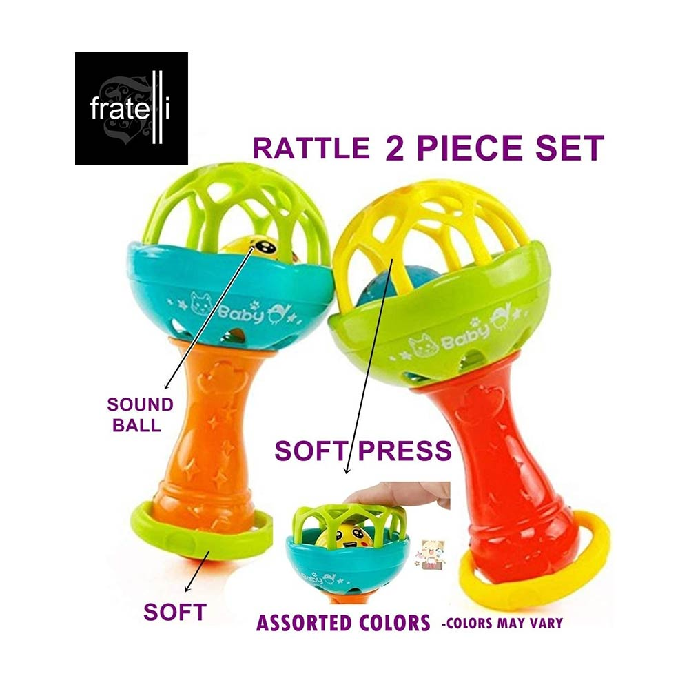 FRATELLI Hand Bell Rattle Toy