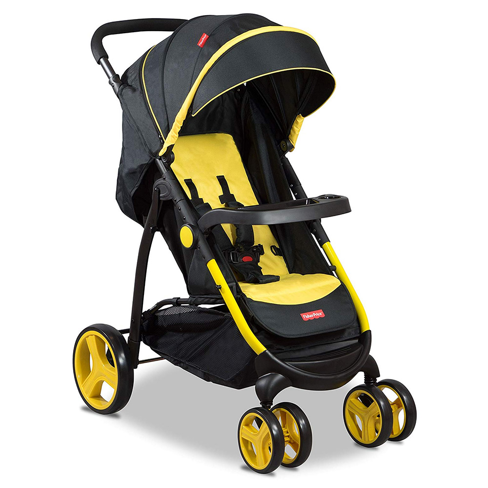 Fisher-Price Steel Explorer Stroller Cum Pram
