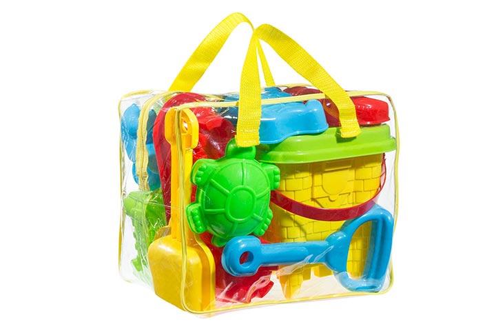 FoxPrint Beach Sand Toy Set