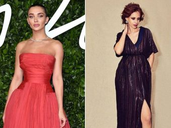 From Sameera Reddy To Amy Jackson, Celebrities Who Flaunted Baby Bumps Acing Maternity Fashion