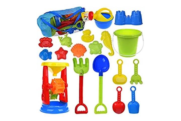 Fun Little Toys Kids Beach Sand Toys Set