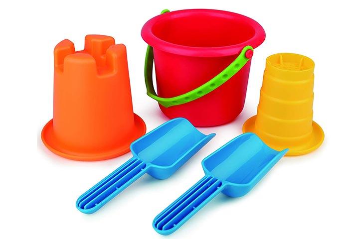 Hape Sand Toys 5-in-1 Beach Set Toys