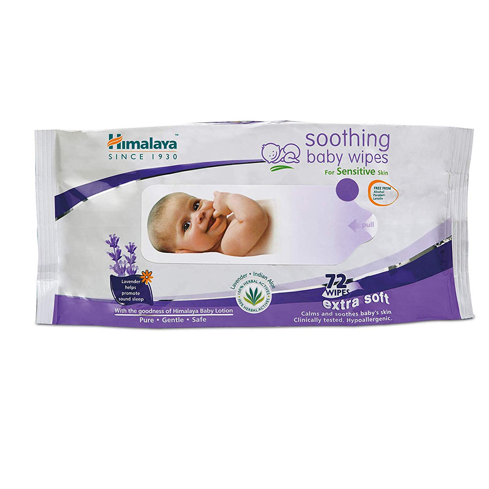 Himalaya Herbal Soothing Baby Wipes