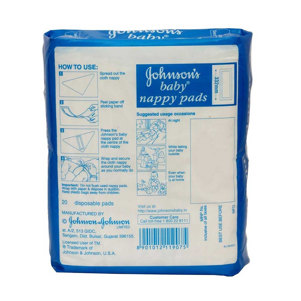 Johnson's Baby Nappy Pads-2