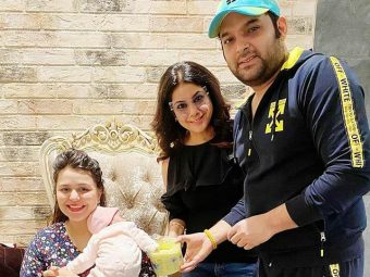 Kapil Sharma And Ginni Chatrath Get Their Daughter Anayra's Hands And Feet Clay Impression