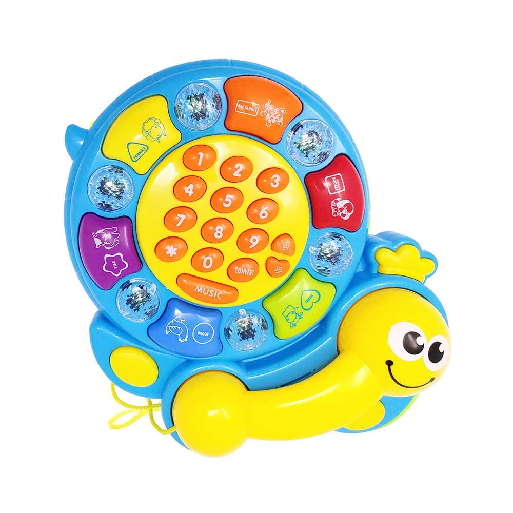 Kiddale Musical Activity Tortoise Toy
