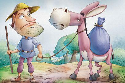 आलसी गधे की कहानी | Lazy Donkey Story In Hindi