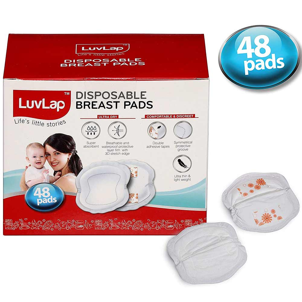 LuvLap Ultra Thin Disposable Breast Pads