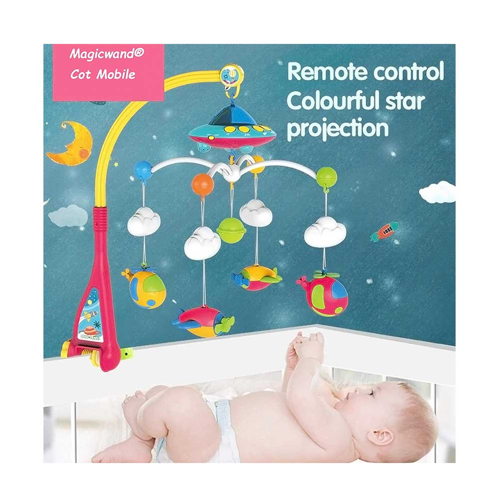 Magicwand Remote Controlled Baby Bed Musical Cot Toy