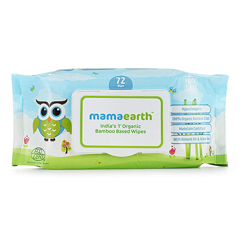 Mamaearth  Organic Bamboo Based Baby Wipes