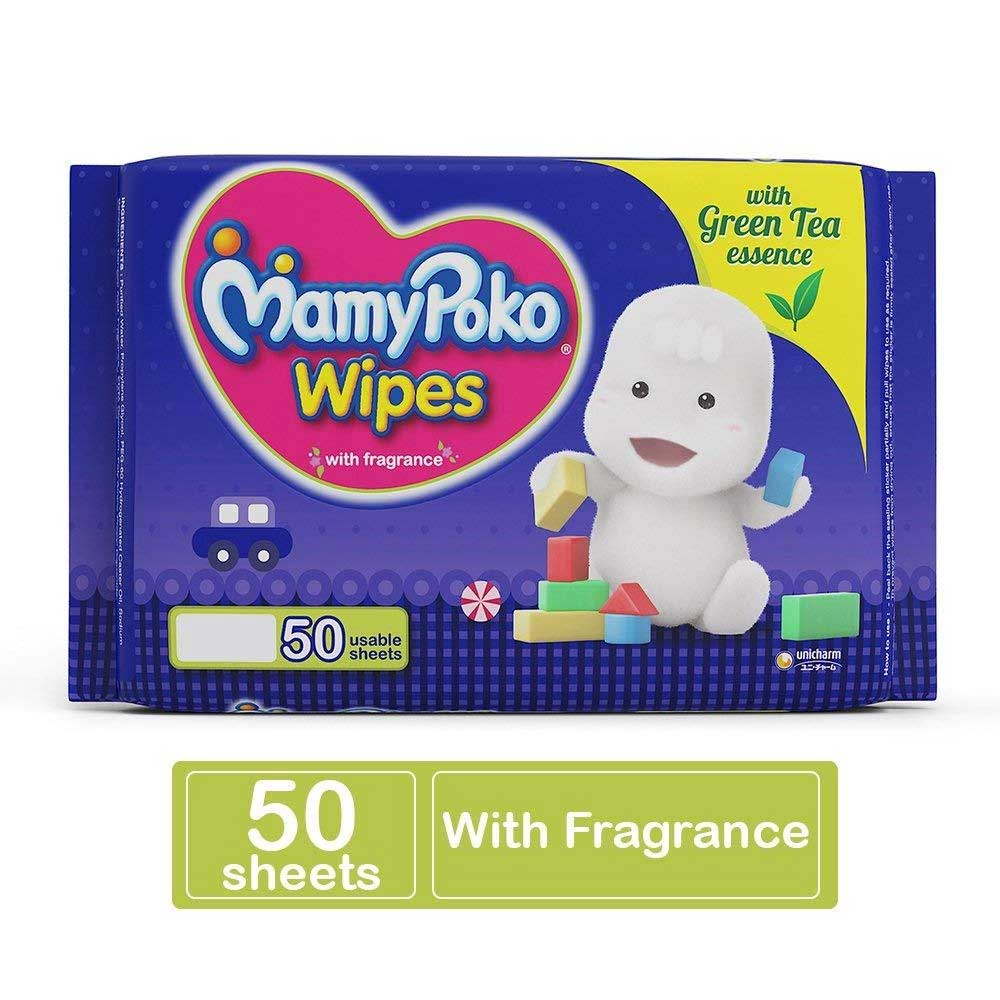 MamyPoko Soft Baby Wipes with Fragrance