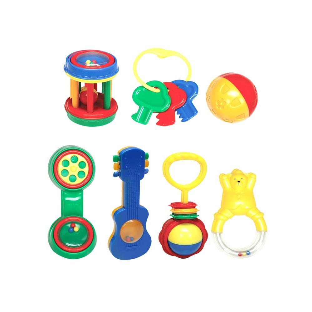 Mee Mee Baby Rattle Gift Set