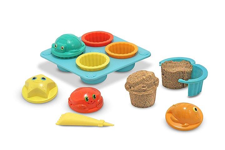 Melissa & Doug Sunny Patch Sand Cupcake Play Set