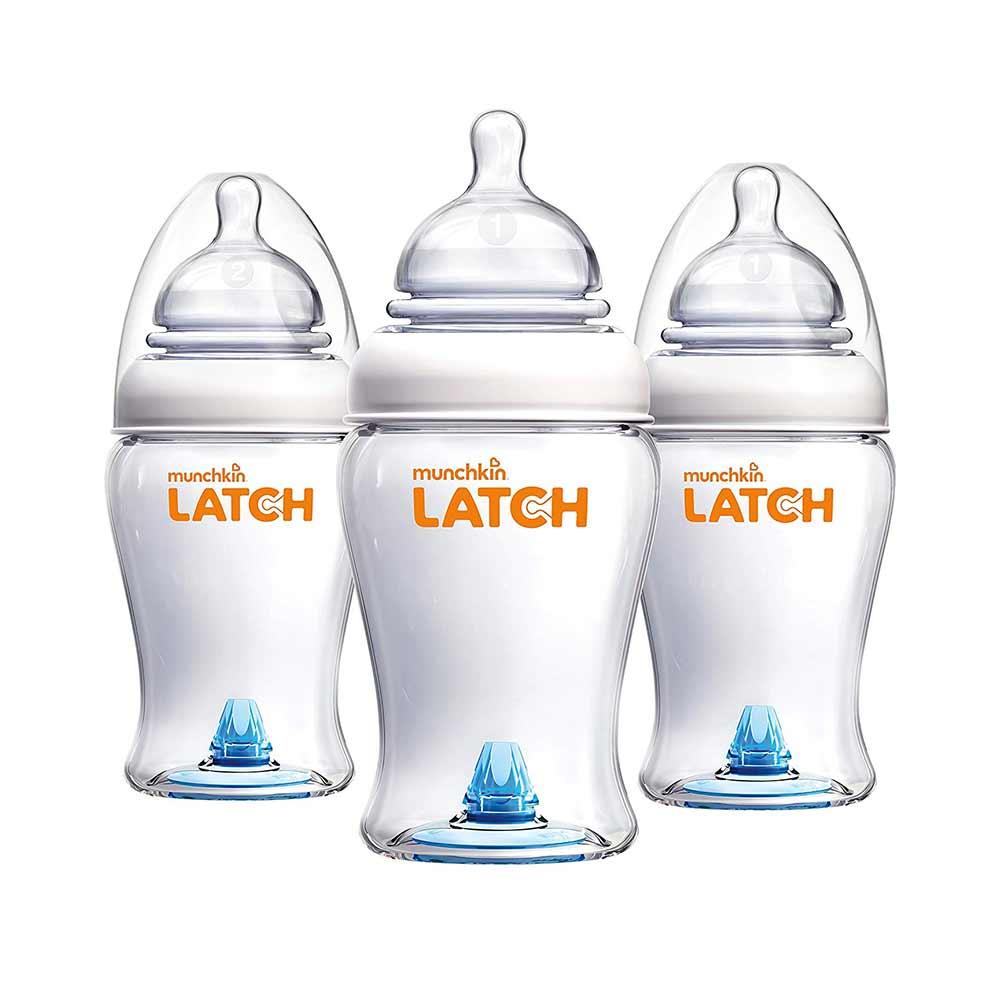 Munchkin Latch BPA-Free Baby Bottle-0
