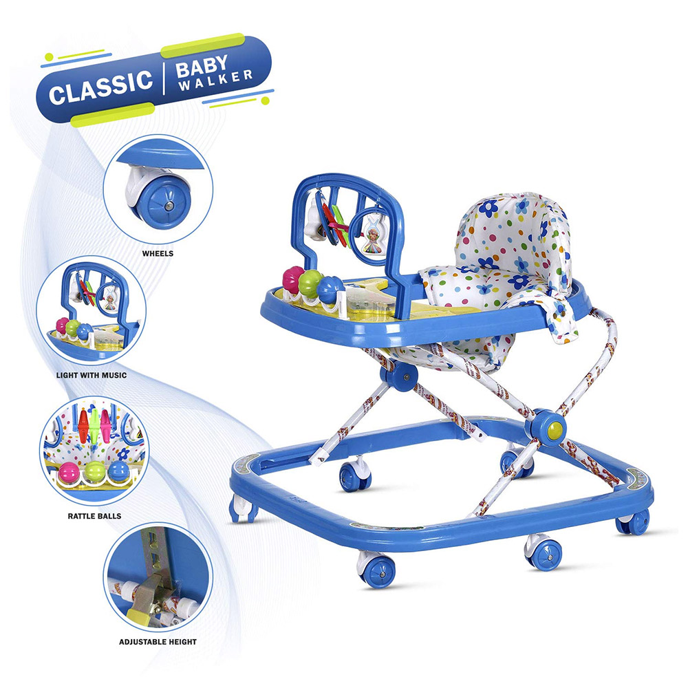 NHR Dash Classic Baby Boy's and Girl's Walker