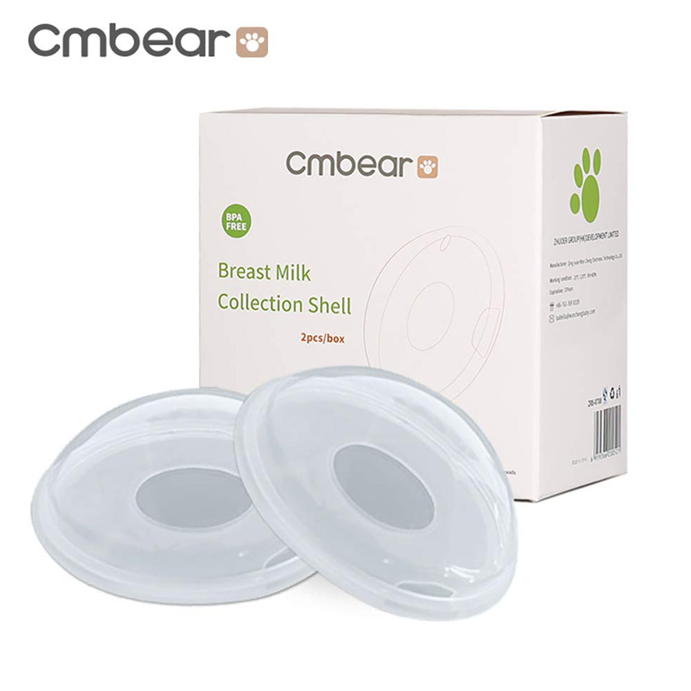 Cmbear Reusable Food Grade Silicone BPA-Free Breast Shells