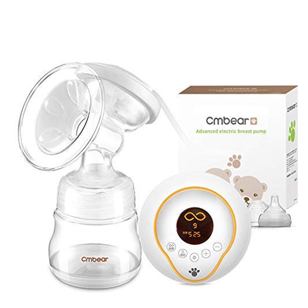 Cmbear Pain-Free Enhanced Suction Version Electric Breast Feeding Pump
