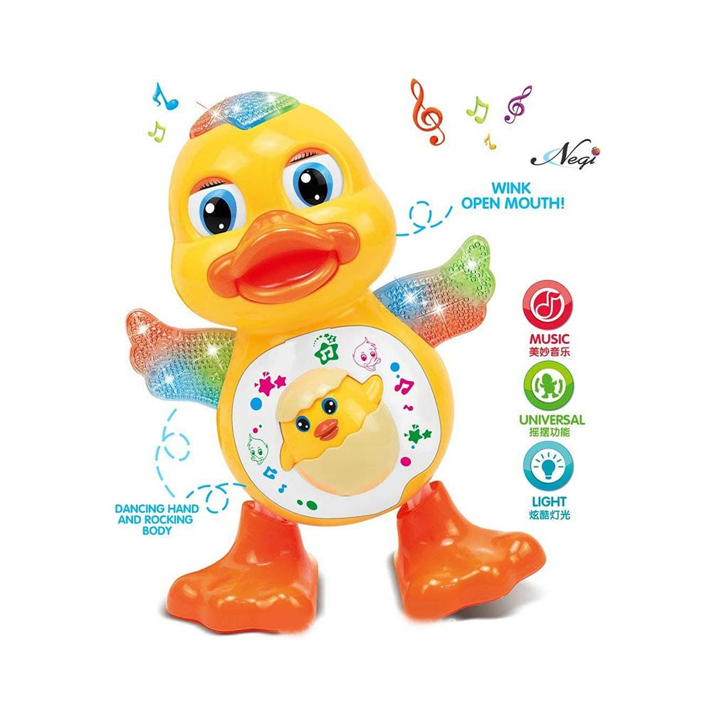 Negi Dancing Duck with Music