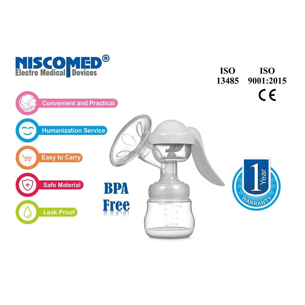 Niscomed Manual Breast Pump