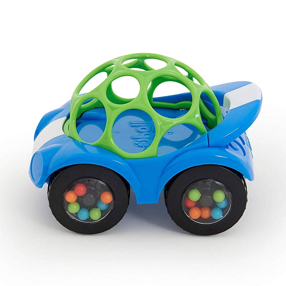 O Ball 1-Piece Rattle & Roll Car