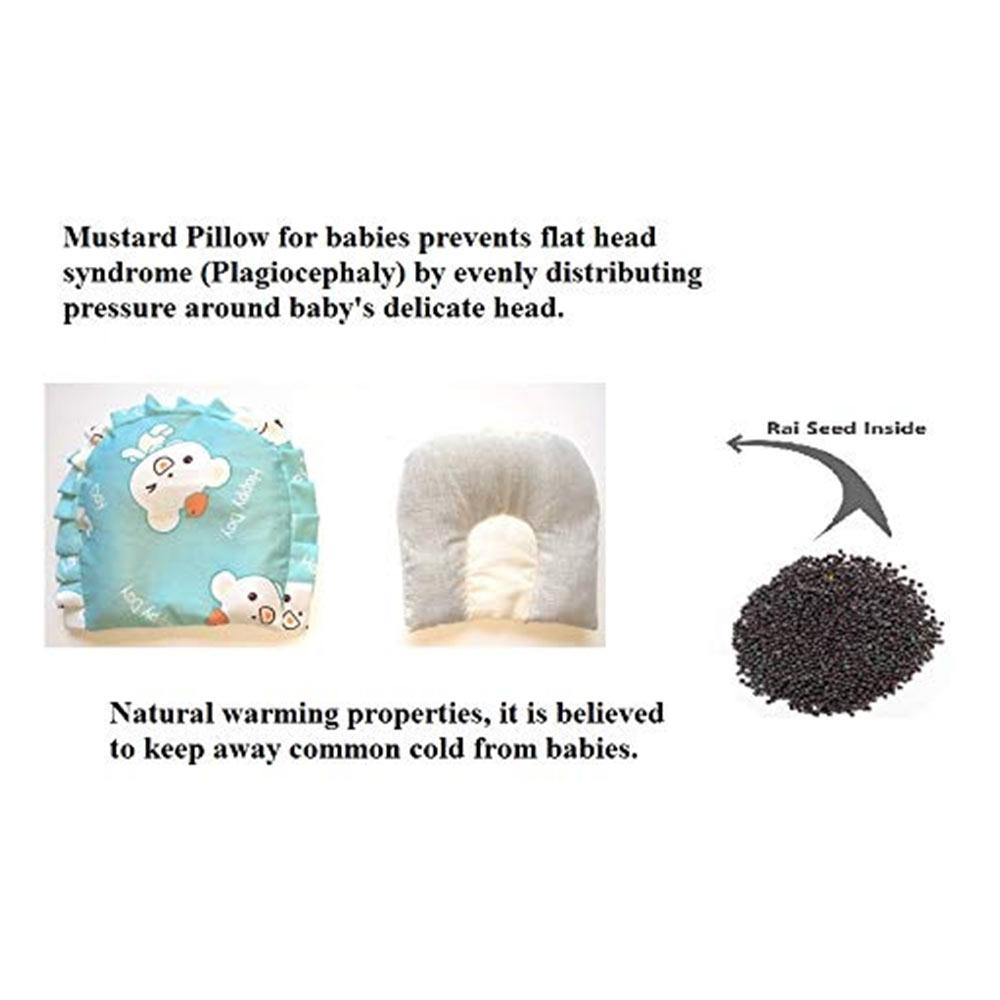 PEUBUD ® Mustard Seeds baby Neck Pillows