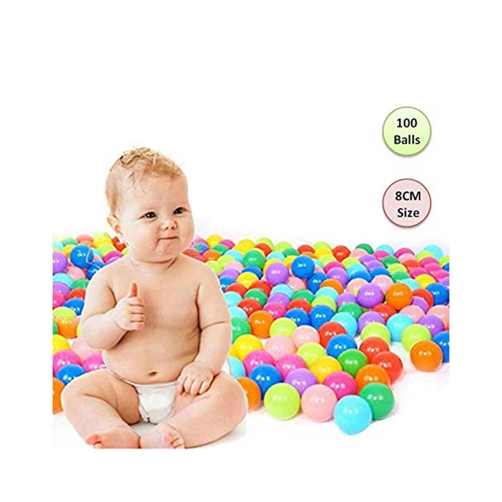 PLAYHOOD PVC Fun Big Size Colourful Balls
