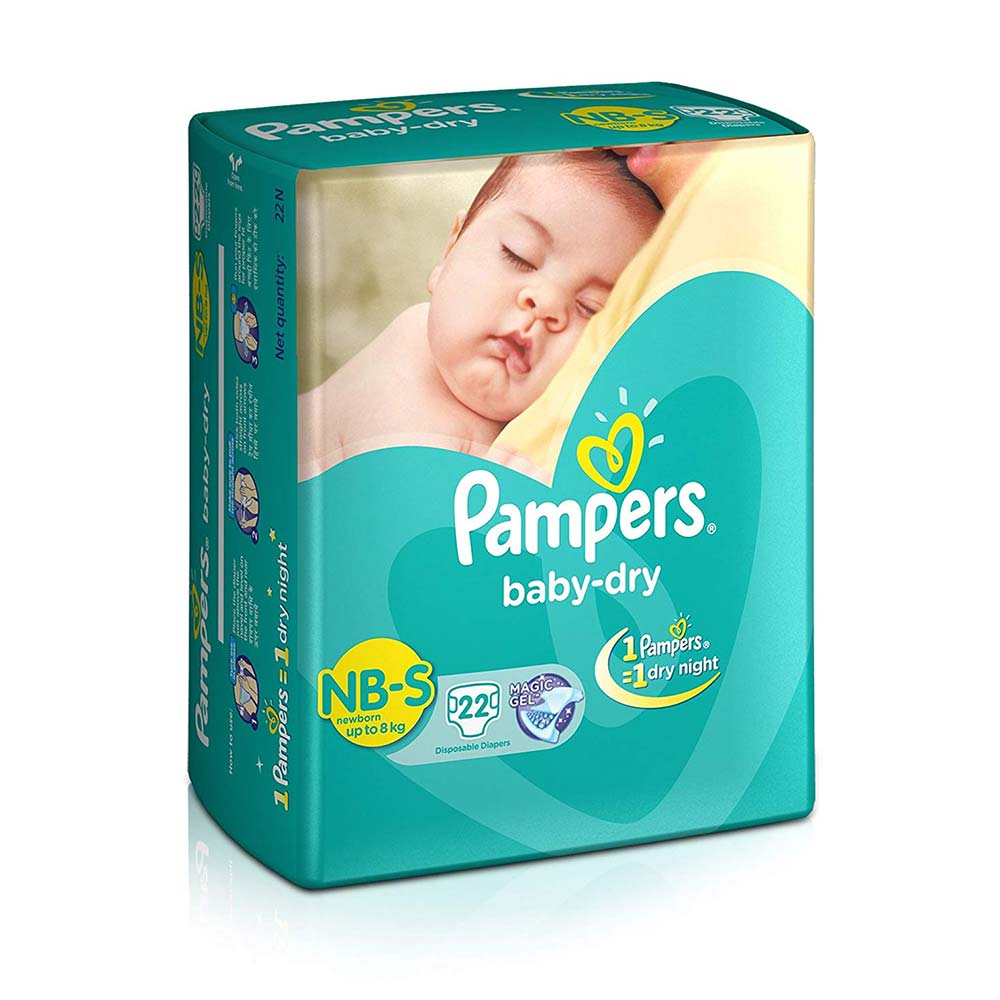 Pampers Small Size Diapers