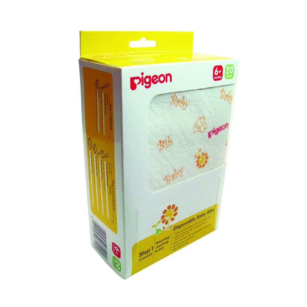 Pigeon Disposable Bibs