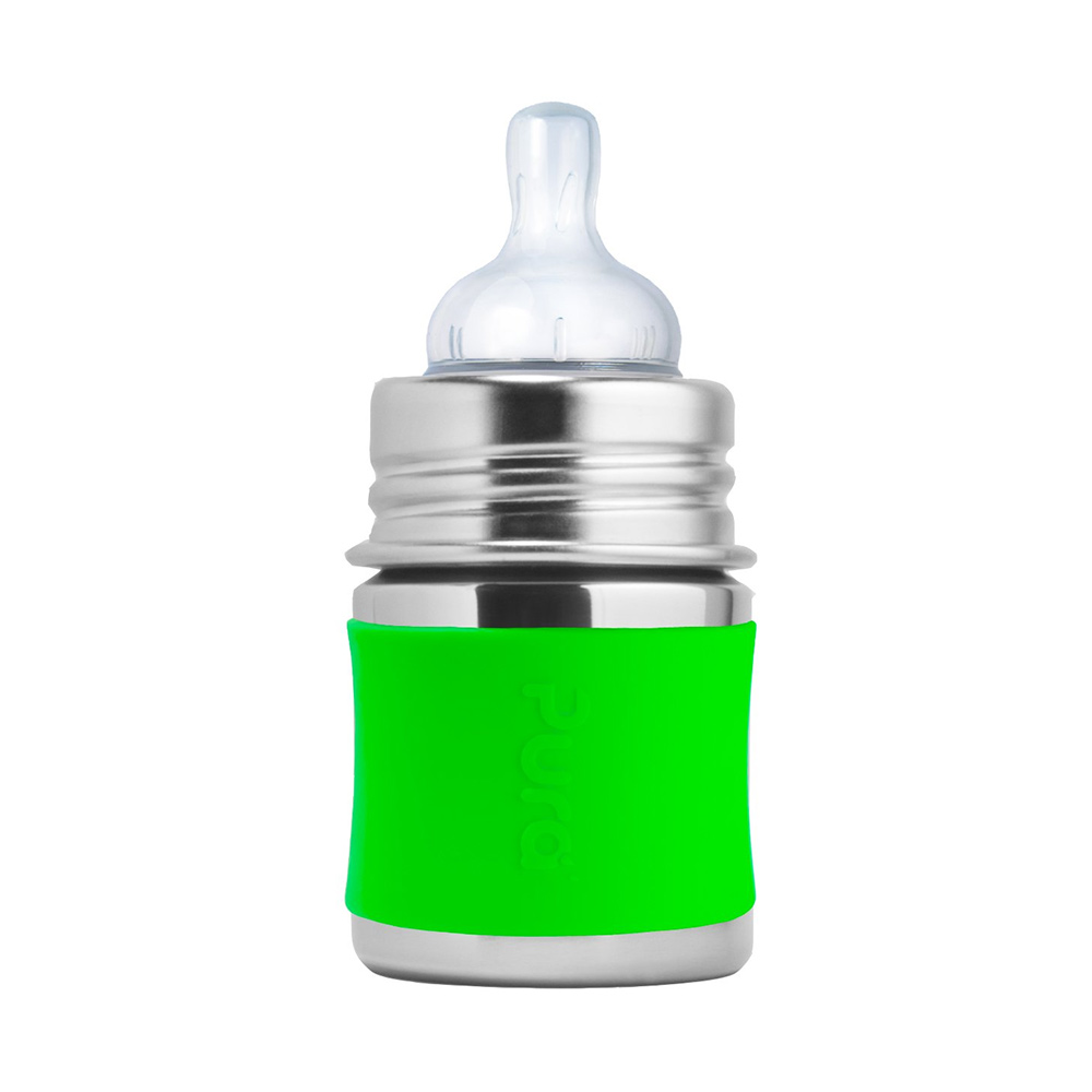 Pura Kiki Stainless Steel Feeding Bottle-0