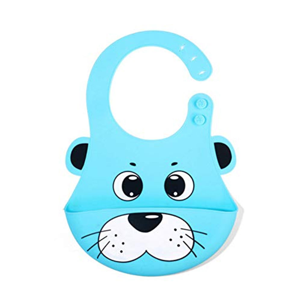 RIANZ Cute Animals Silicone Baby Bibs