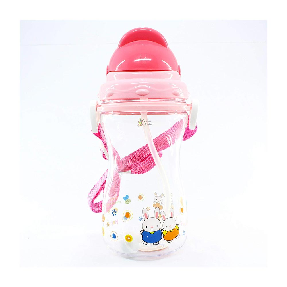 Rachna's No-Spill Straw Sipper Cup Water Bottle