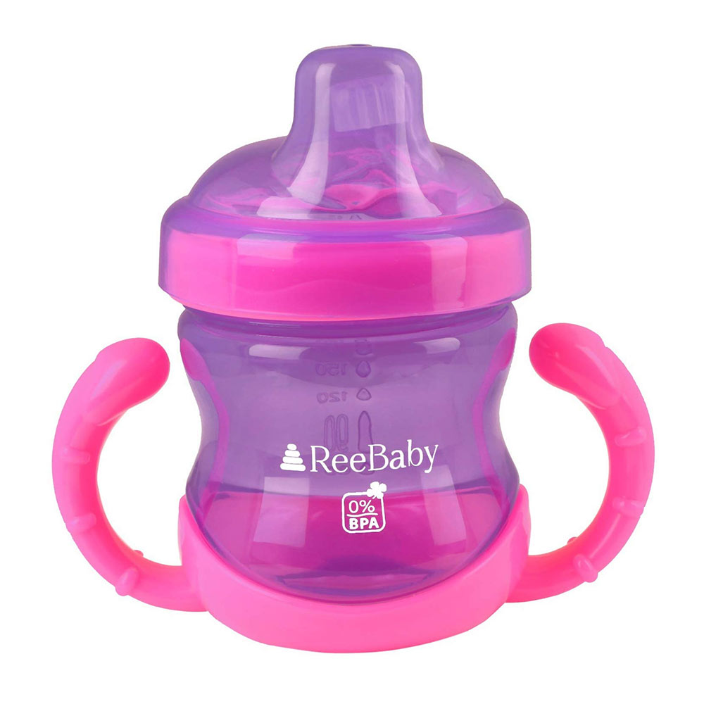 ReeBaby Sippy Cups with Soft Silicone Spout