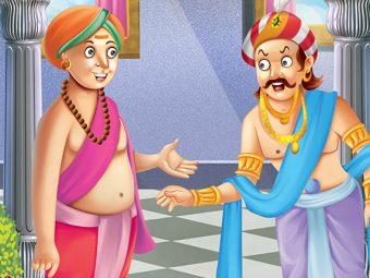 तेनालीराम की कहानी: तेनाली राम और रसगुल्ले की जड़