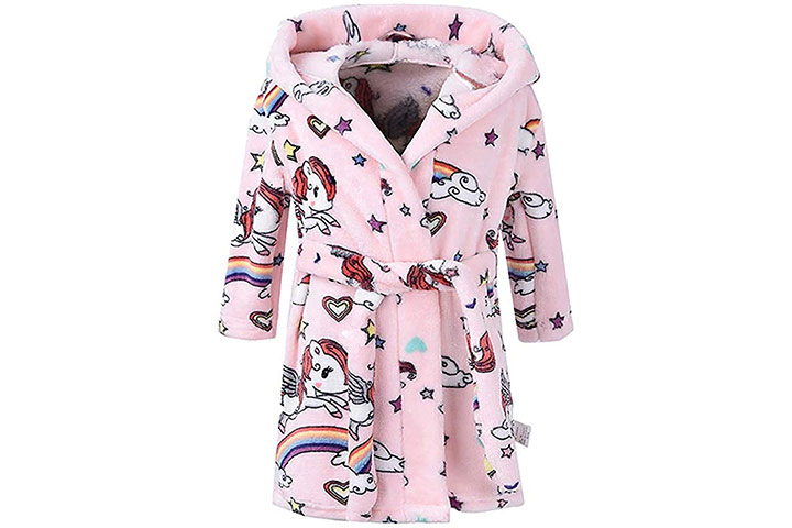 RuoguBoys Girls Bathrobes