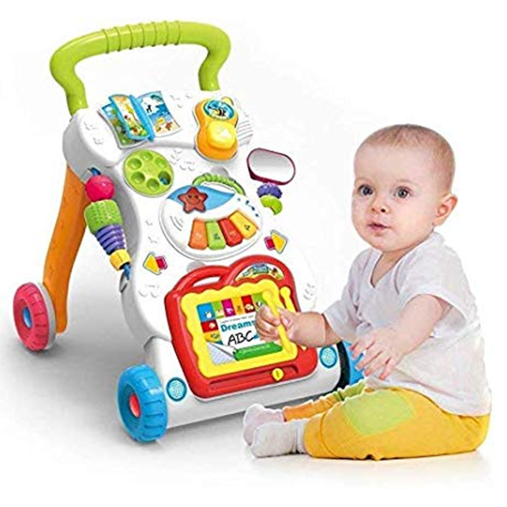 SUPER TOY Musical Baby Activity Walker for Kids-0