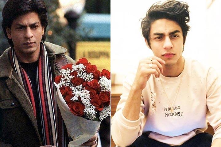 Shah Rukh Khan And Aryan