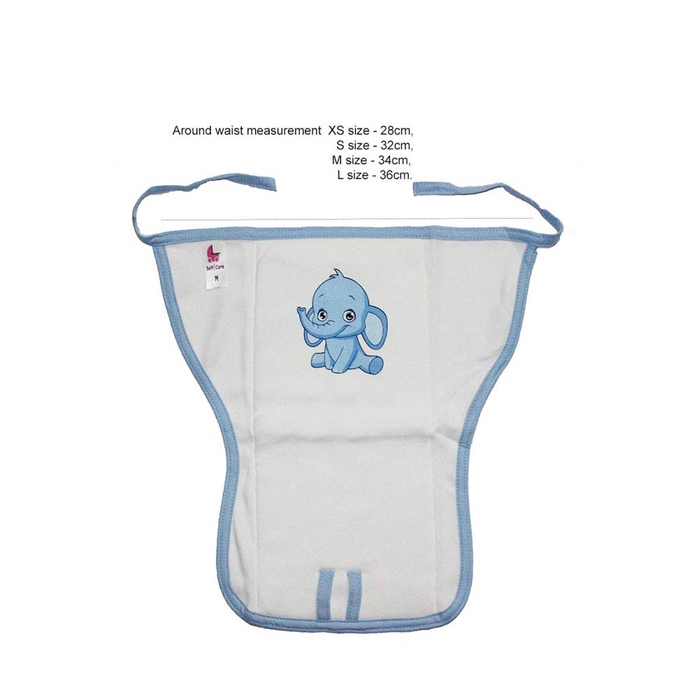 Softcare Cotton padded Baby Reusable Nappy-3