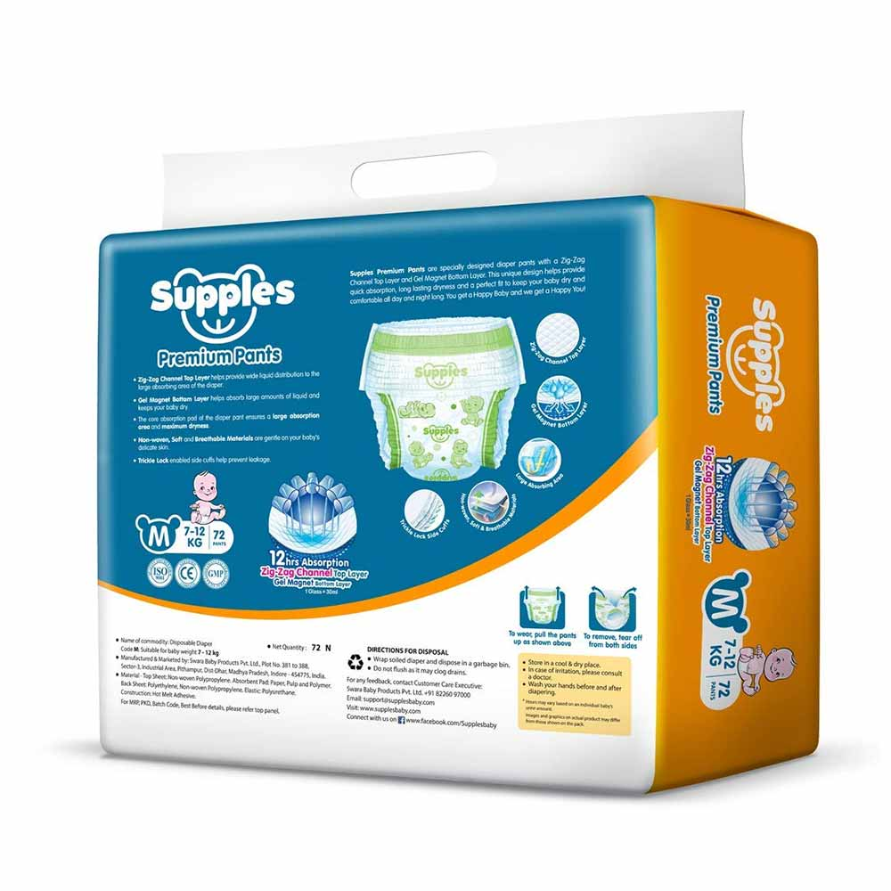 Supples Baby Pants Diapers-2